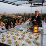 Dinner in the Sky Monaco 2010 – World's Most Extravagant Dining Experience