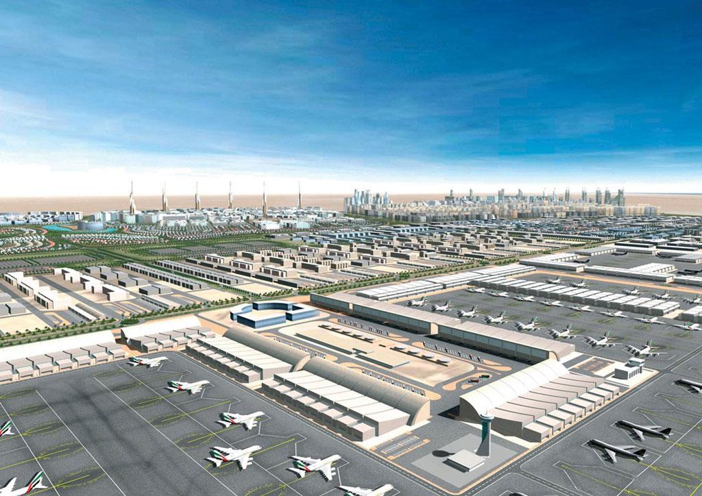 Dubai World Central - Al Maktoum International - The world's largest airport