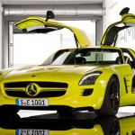 Mercedes Benz SLS AMG Gullwing E-Cell – Fully Electric Supercar