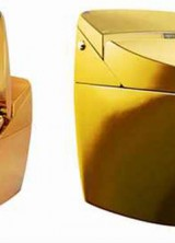 Gold Plated Regio Toilet by Inax Corp. – Affordable Only to the Privileged Few