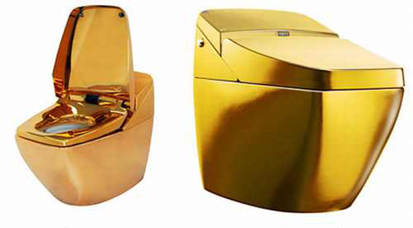 Gold Plated Regio Toilet by Inax Corp. &#8211; Affordable Only to the Privileged Few