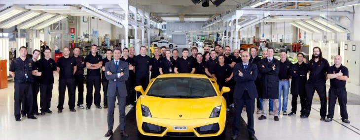 10,000th-Lamborghini-Gallardo