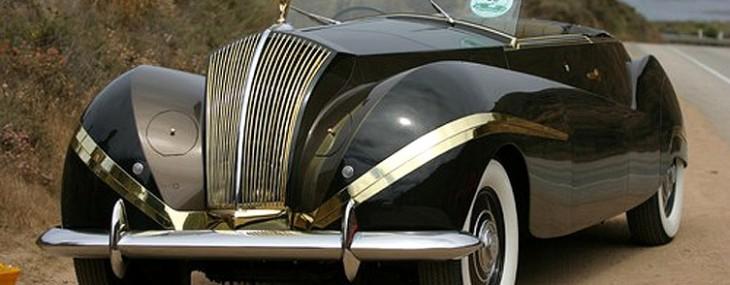 1939/47 Rolls-Royce Phantom III Vutotal Cabriolet by Labourdette
