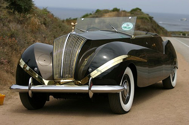1939/47 Rolls-Royce Phantom III Vutotal Cabriolet by Labourdette Will Make a Rare Appearance at 7th Annual Fairfield County Concours d'Elegance