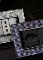 Luxury Diametral Switch Plates Decked in Swarovski Crystals