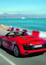 2011 Audi R8 5.2 Spyder Quattro V10 Let You Hear Song of the 525 Horsepower
