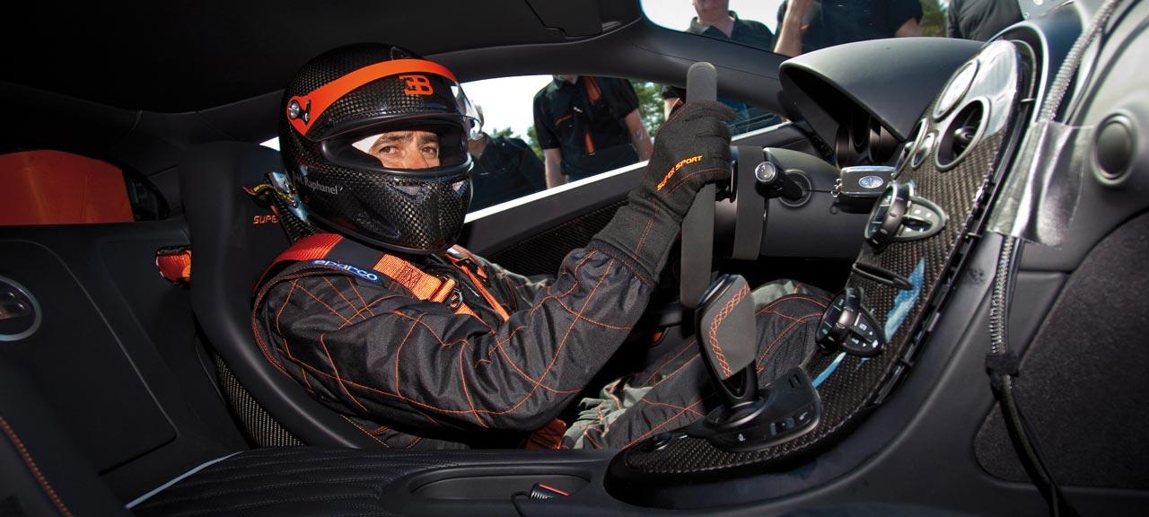 Самый быстрый Bugatti Veyron Super Sport