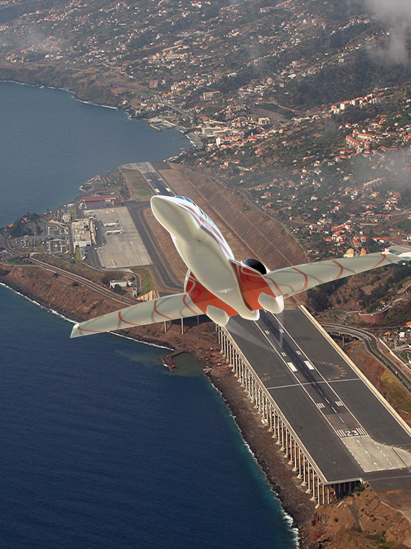 Nasa jet plane