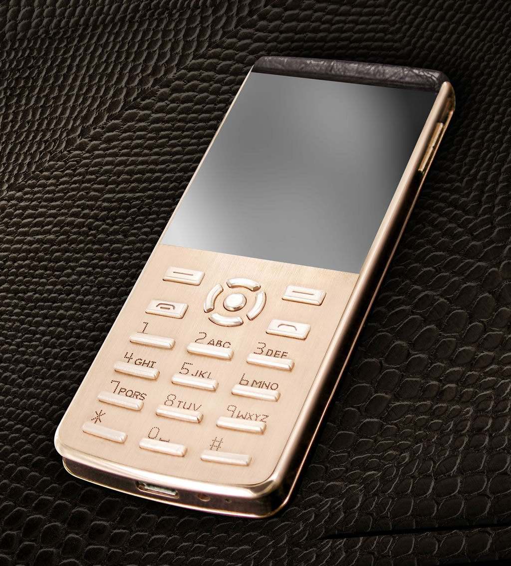 The New Ultra Slim Bellperre Luxury Phone &#8211; Highly Customizable Candybar Handset