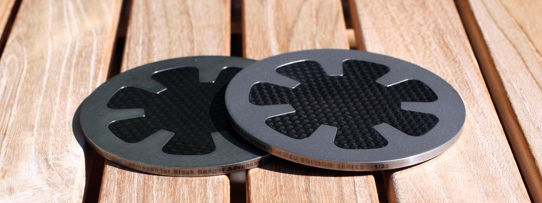 Black Badger Advanced Composites Coasters