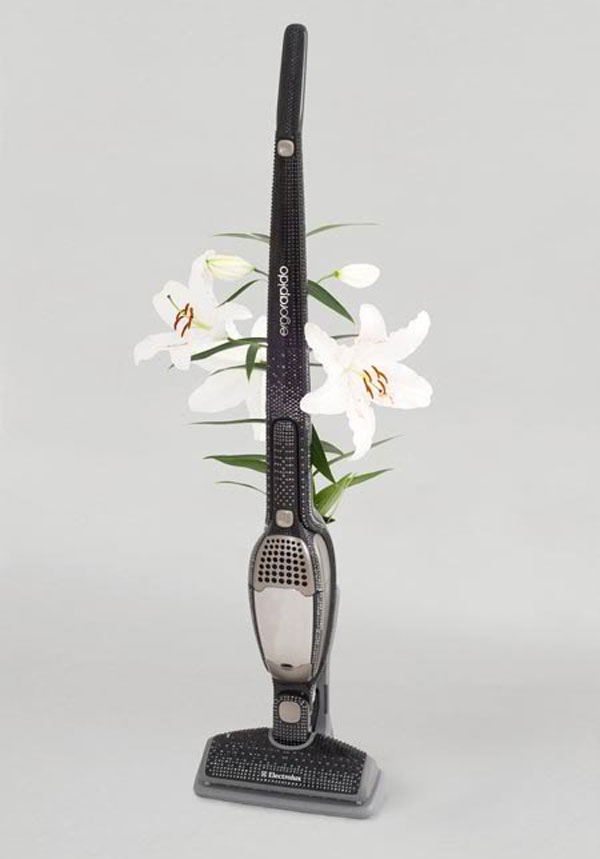 Electrolux Ergorapido Black Edition – Vacuum Cleaner Encrusted with 3,730 Swarovski Crystals