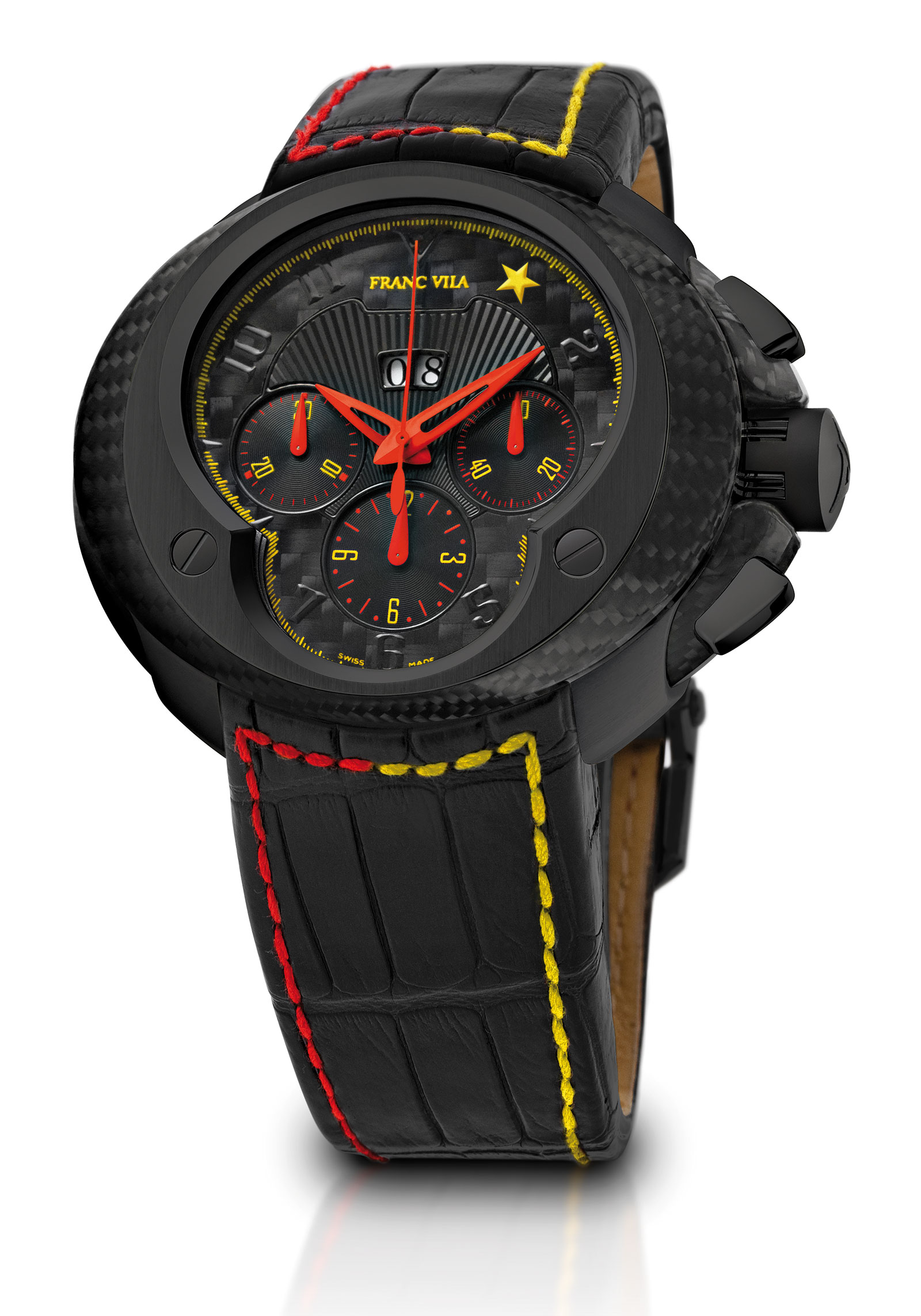 Franc Vila EVOS 8 Cobra Estrella Roja – Chronograph with Big Date