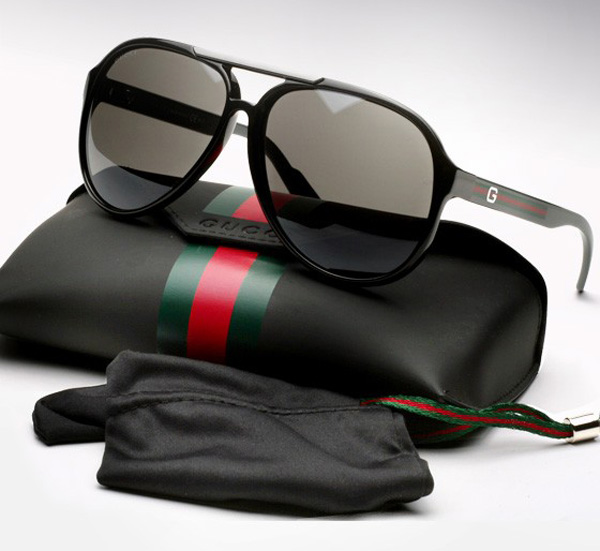 Gucci Special Edition Heritage Aviators Sunglasses