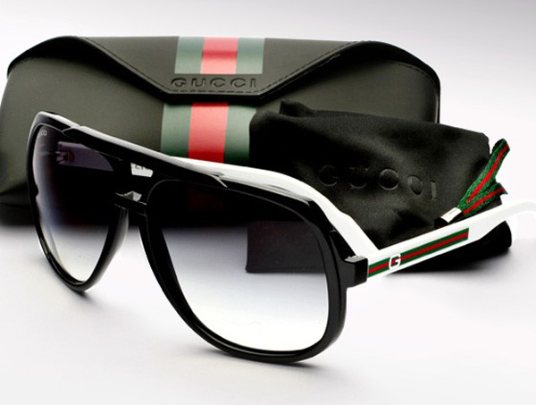 Gucci Heritage Aviators Sunglasses