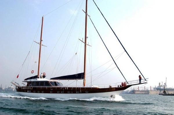 Istanbul - Gulet Sailboat
