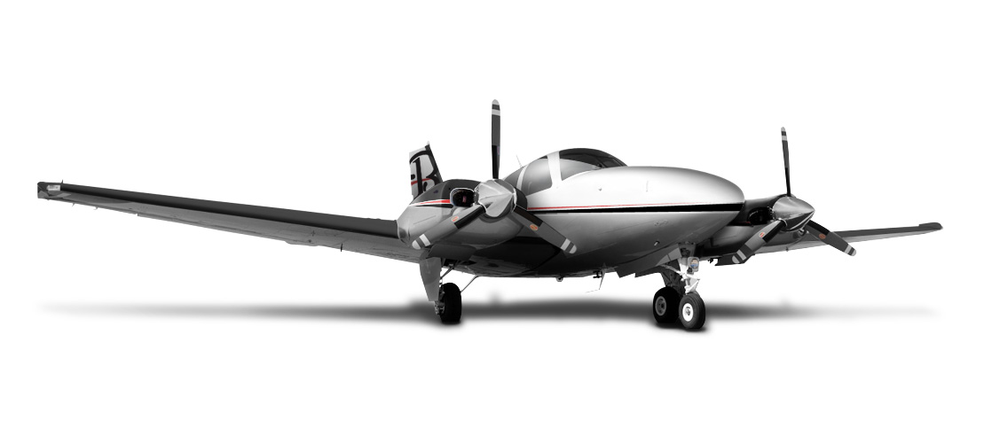 Hawker Beechcraft Special Edition 50th Anniversary Baron Models