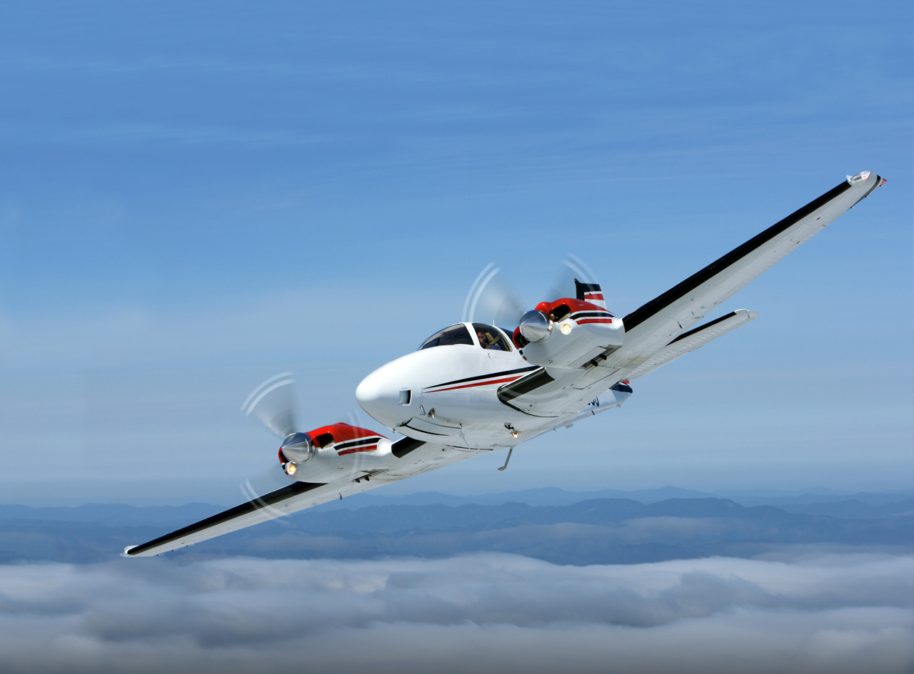 Hawker Beechcraft Special Edition 50th Anniversary Baron Models