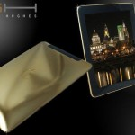 Ipad Supreme Fire Edition by Stuart Hughes – The Worlds First 24ct Gold iPad