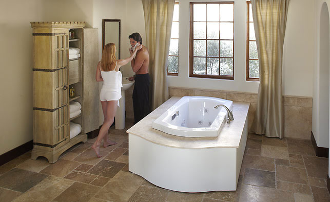 new luxury jacuzzi bathtubs offer hydrotherapy and wellness bathtubs