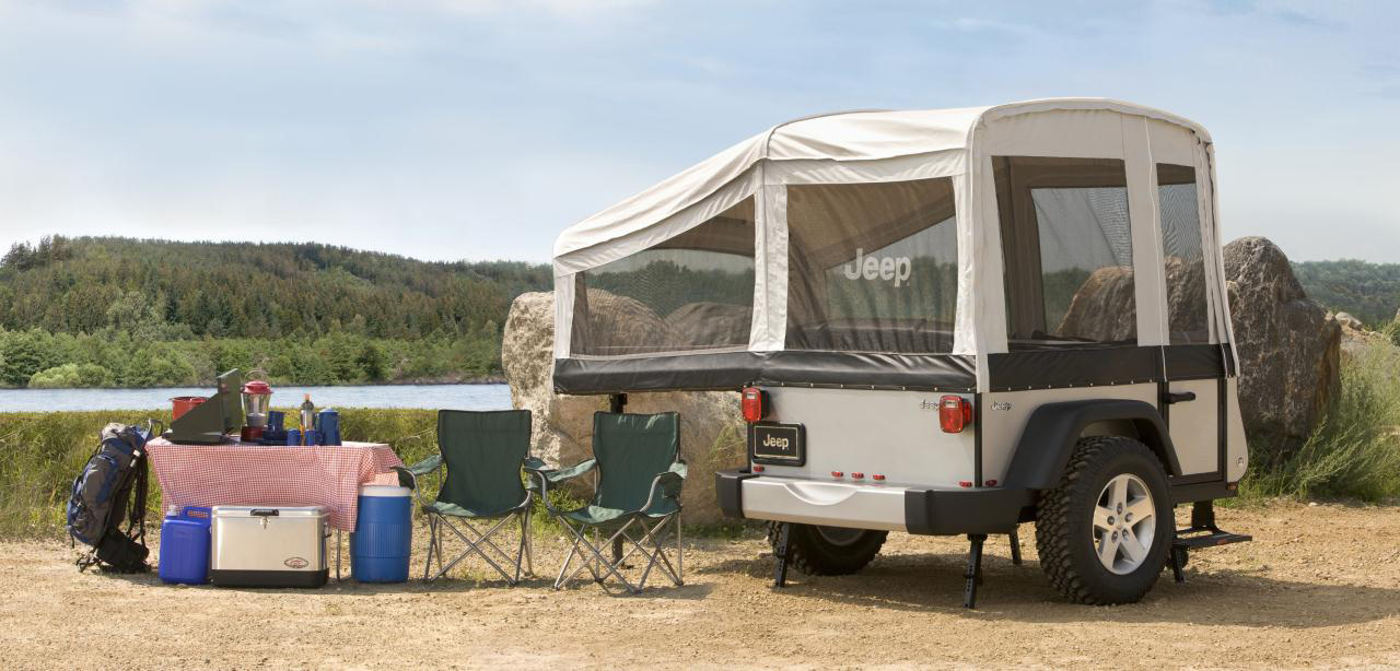 Campers For Sale In Ga >> Trail Edition Campers from Jeep and Mopar for Extreme Off ...