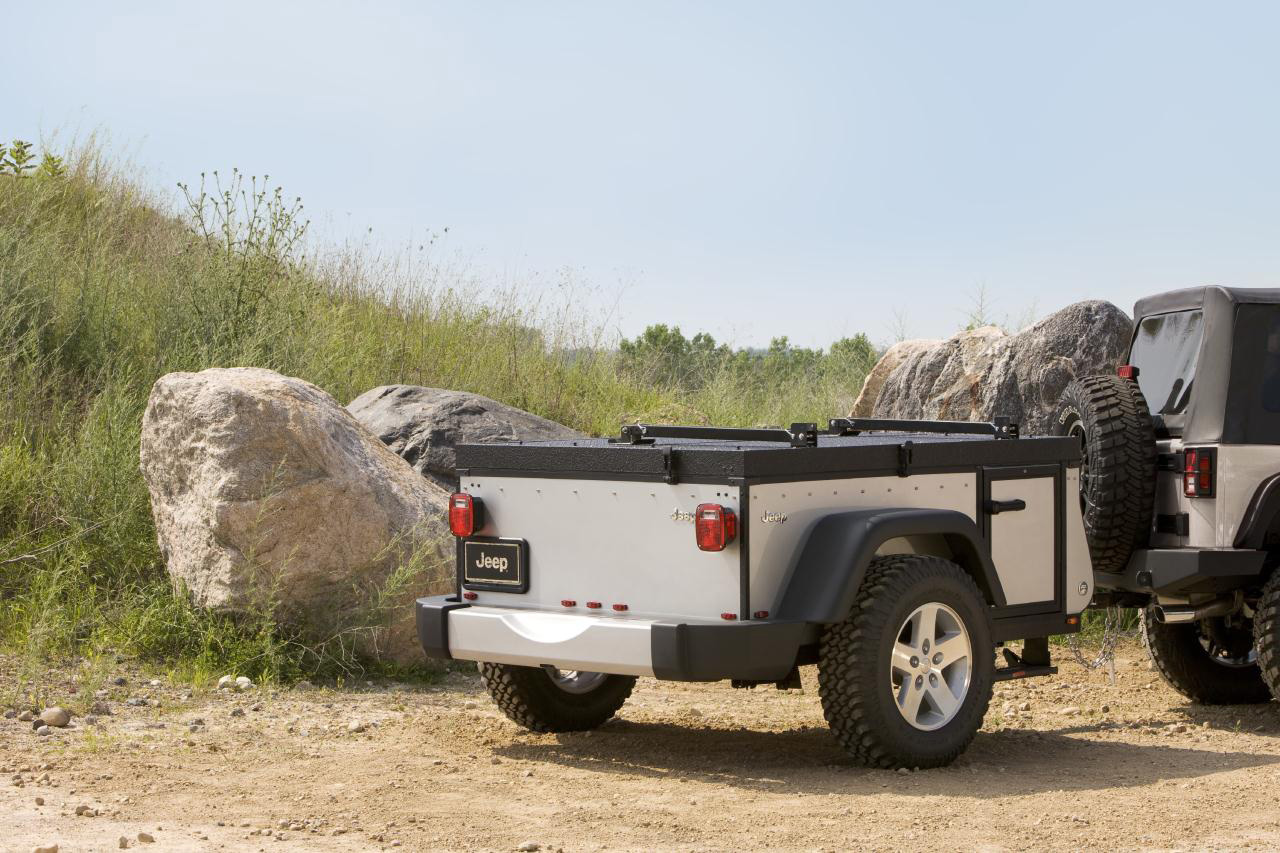 Trail Edition Campers from Jeep and Mopar
