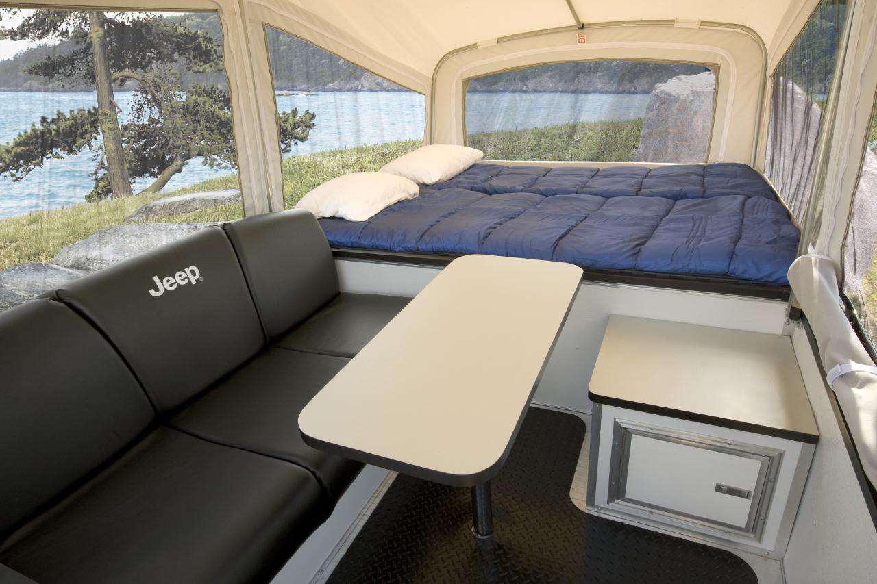 Luxury Jeep OffRoad Camper Trailers  HiConsumption