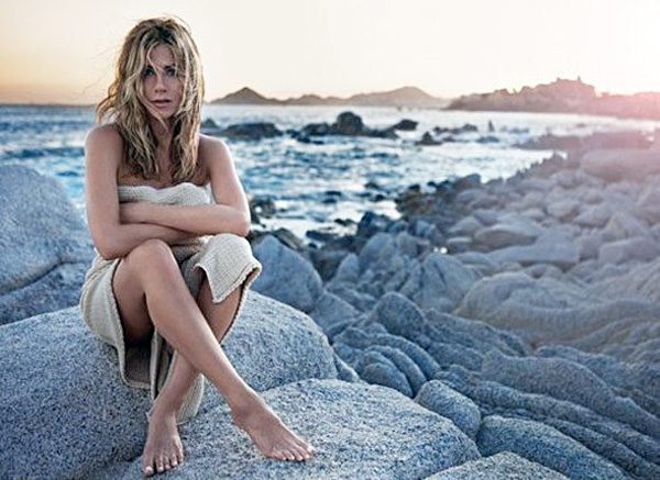 Jennifer Aniston promo shots for her fragrance
