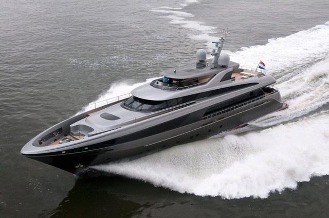 Jongert's 3900MY Aluminum Superyacht