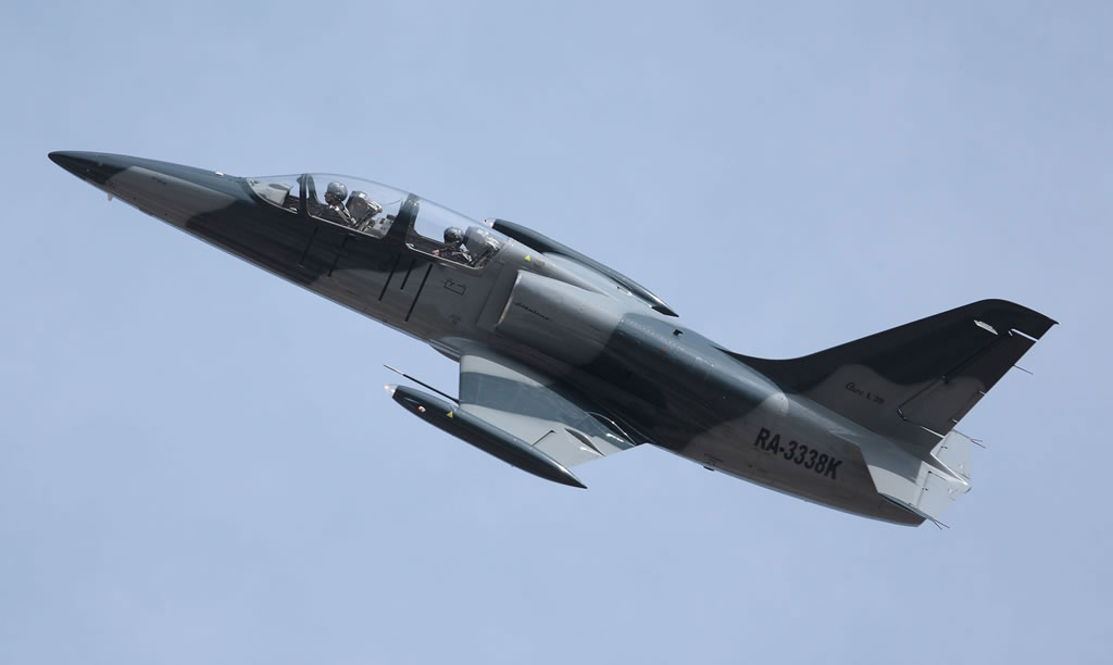 L39 Albatros Fighter Jet