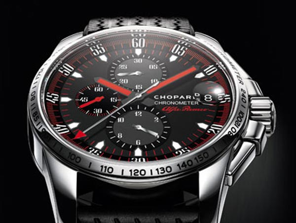 Limited Edition Chopard XL Gran Turismo Alfa Romeo Watch