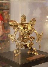 One and Only Gold Transformers Bumblebee