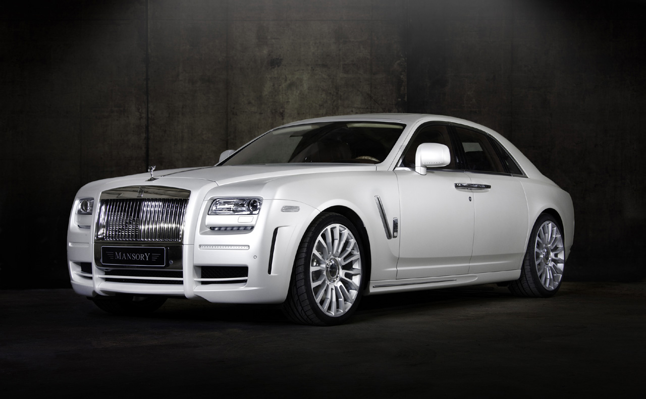 Limited Edition Rolls Royce White Ghost from Mansory
