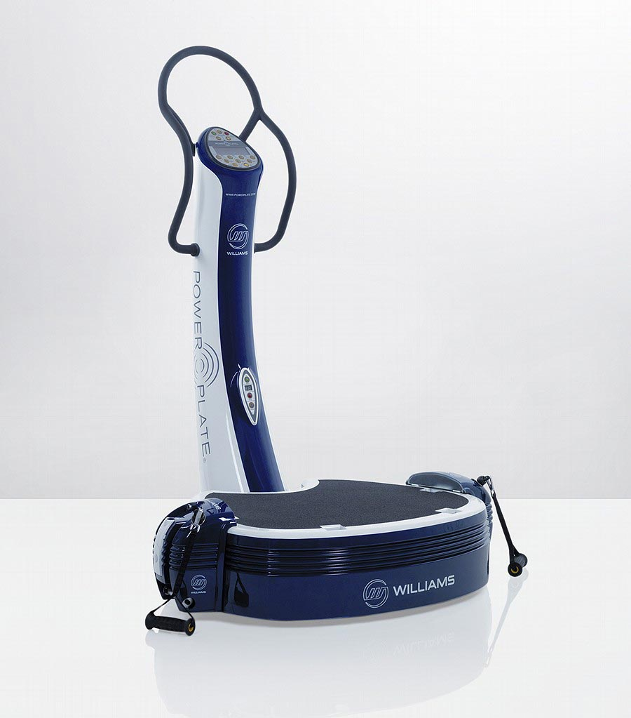 Power Plate Limited Edition Williams F1 Pro6 Keep You in Shape