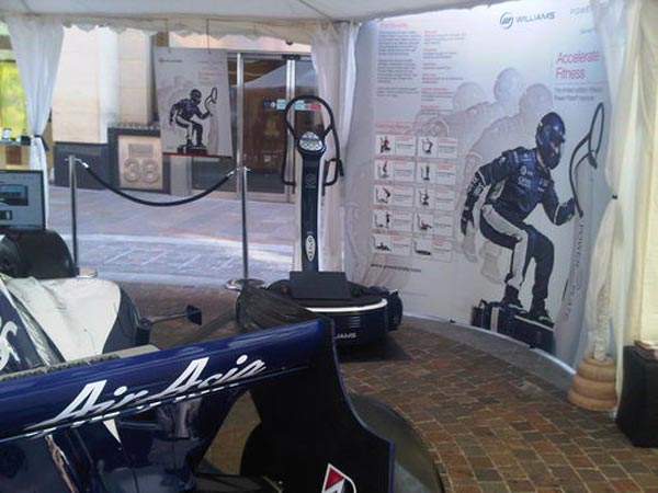 Limited Edition Williams F1 Pro6 Power Plate