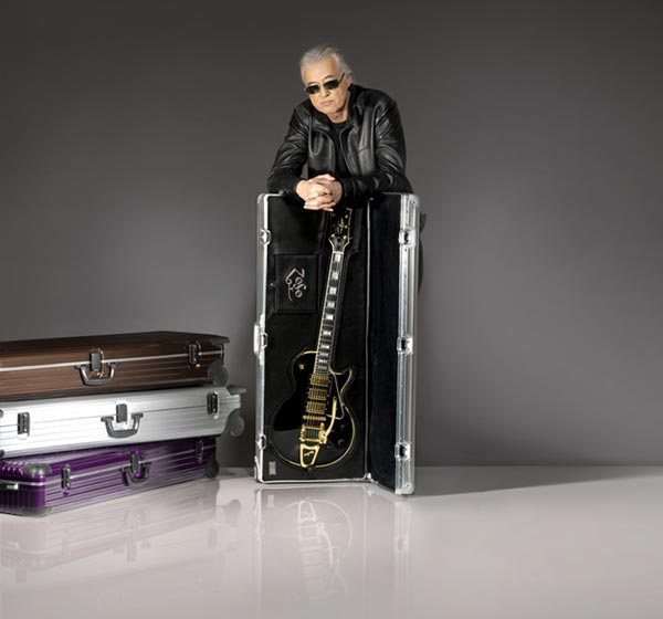 Logo Case Crafted by Jimmy Page and RIMOWA