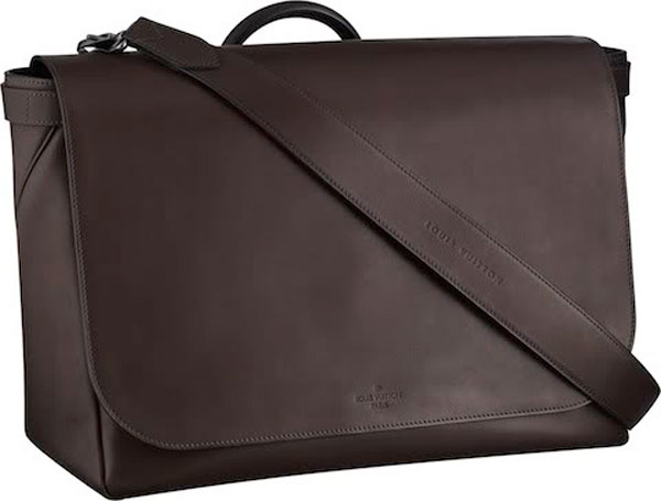 Louis Vuitton's Mens Fall/Winter 2010-2011 Bag Collection - Briska Messenger GM