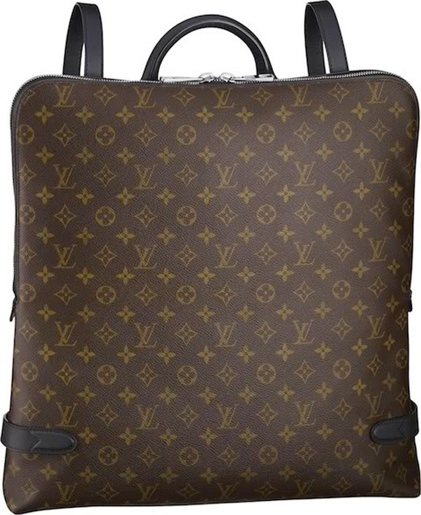 Louis Vuitton's Mens Fall/Winter 2010-2011 Bag Collection - Macassar Sac-a-Dos