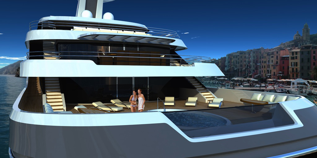 Lurssen 88meter Orchid Yacht Designed by Luiz De Basto