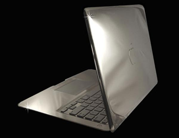 MacBook Air Supreme Platinum Edition by Stuart Hughes