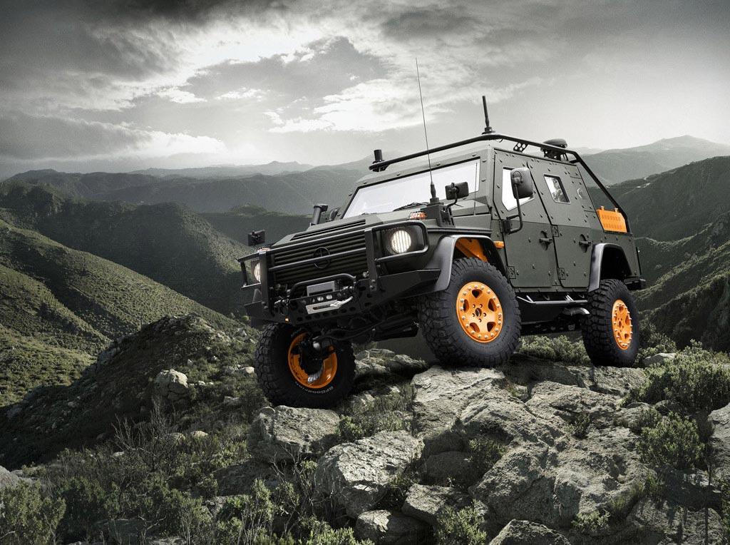 Mercedes-Benz G-Wagon Light Armoured Patrol (LAP) Vehicle 6.X Concept