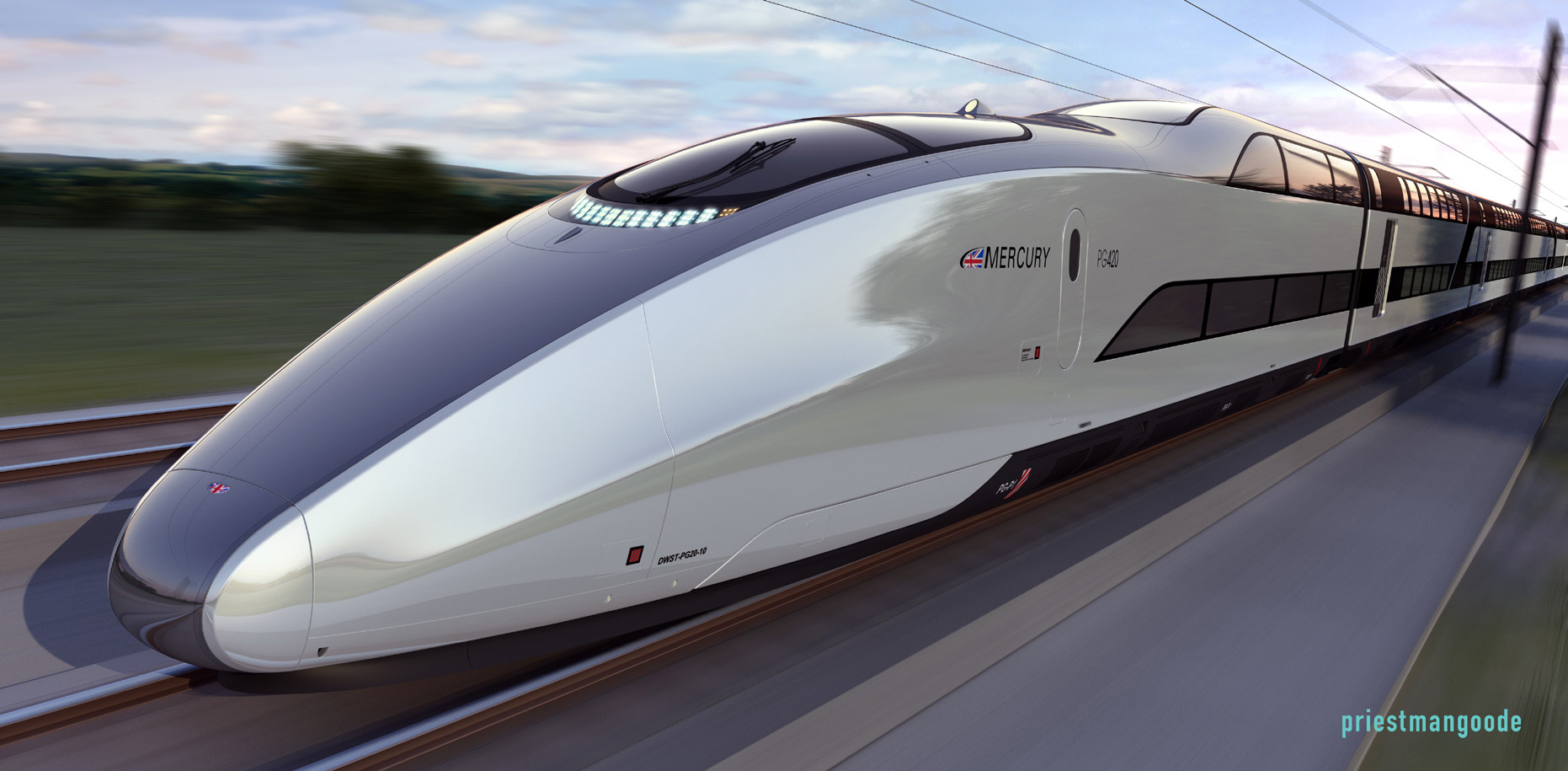 Mercury - Britain's New High Speed Ttrain Concept