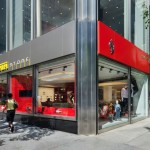 Ferrari Store Opens in Manhattan's Park Avenue, New York