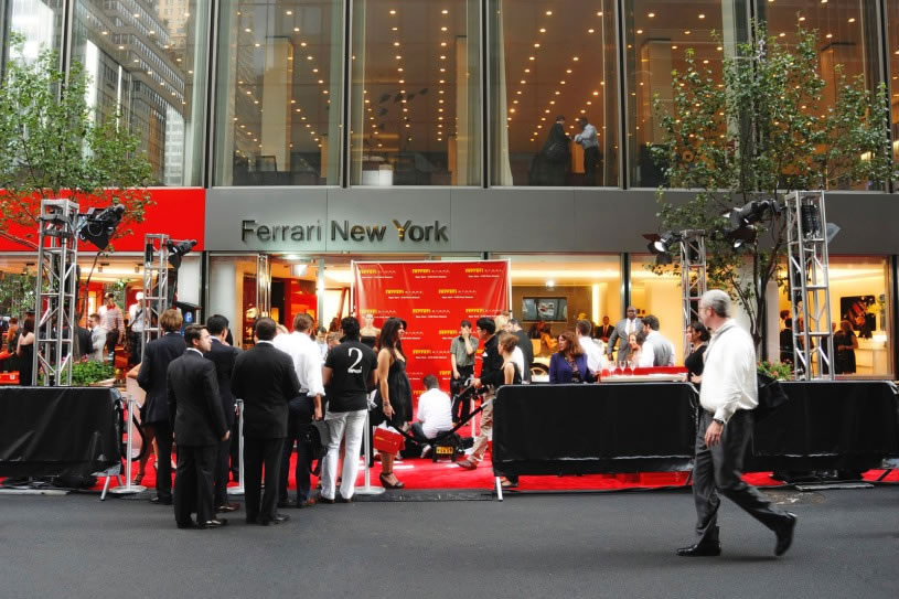 Ferrari Store in New York