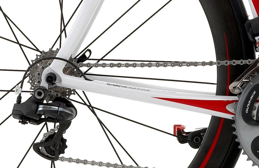 Pinarello Prince Carbon Di2 Bike - Rear Forks