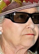 Queen Elizabeth II Wears Swarovski Crystal Encrusted 3D Glasses