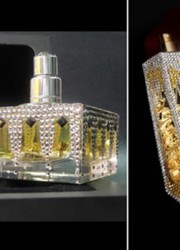 Ramon Molvizar Fragrances – One Gram of Gold Suspended in Each Vial