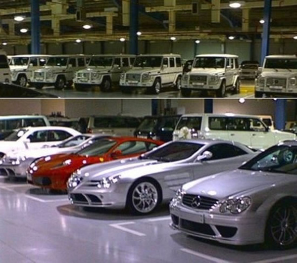 Open Sesame – What is Hidden in Sultan of Brunei's Garage