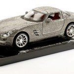 Swarovski Crystal Studded Small Scale Mercedes Benz SLS AMG offered by Hamleys Toy Store