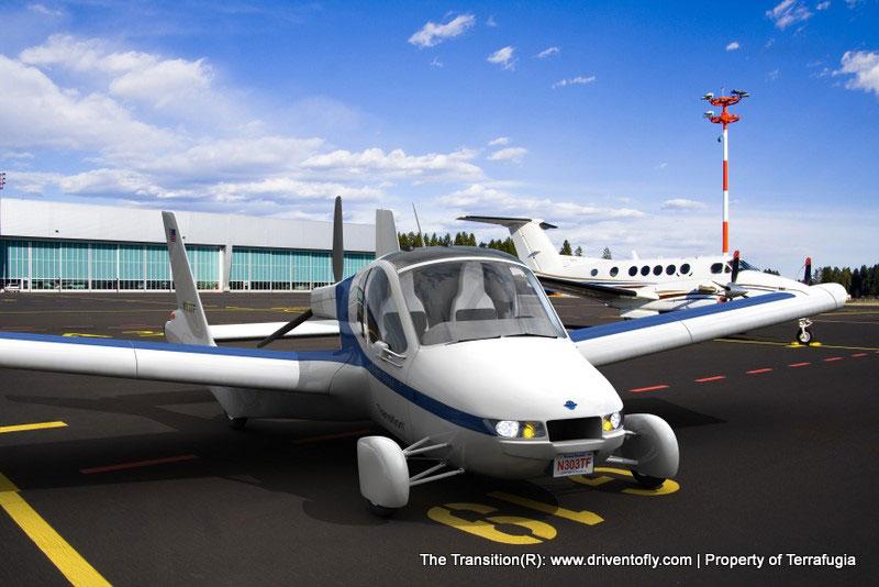 The Transition - Terrafugia Flying Car