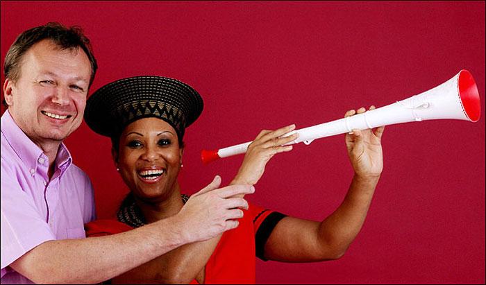 World's Most Expensive Vuvuzela